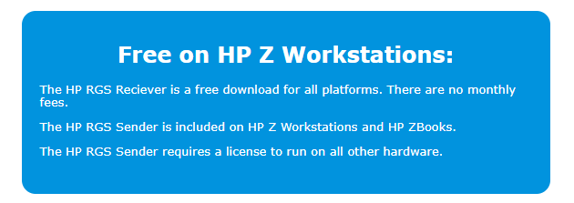 Free on HP Z Workstations